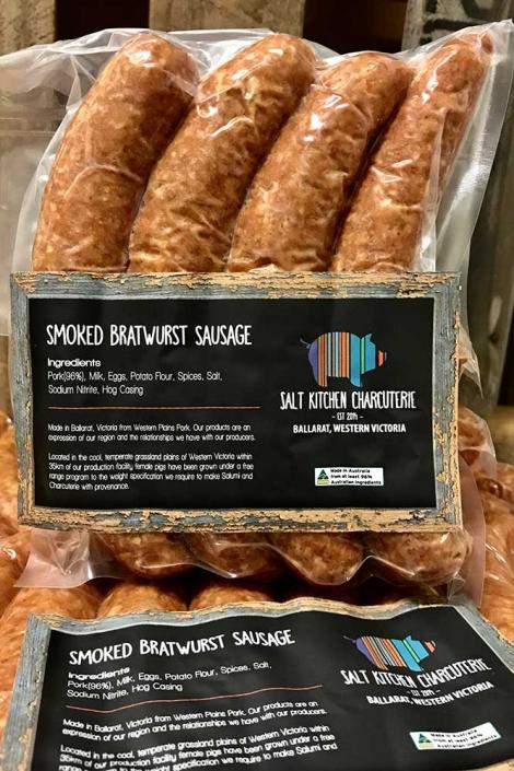 Smoked Bratwurst Sausage